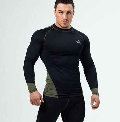 Picture of TEE COMPRESSION BLACK